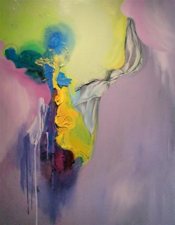 White handkerchief oil on canvas