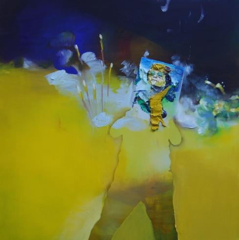 The Overthrow oil on canvas  48