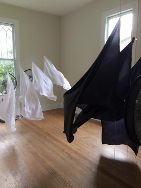 "Installation view, ""A House Divided, Sala Diaz San Antonio"